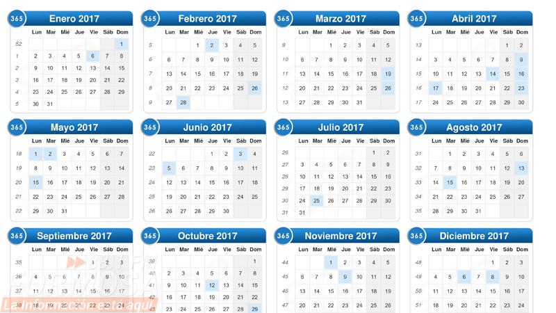 Calendario 2017 Argentina.Cuales Son Los Feriados Previstos Para El 2017 Radio Formosa