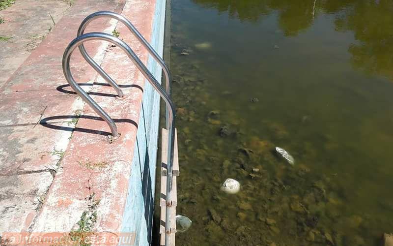Vecinos del interior reclaman que reparen piscinas for Piscina el espinillo